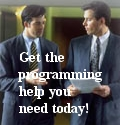 Get the programming help you need today!